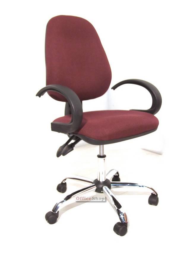 ניס כסא משרדי דגם כלנית + ידיות סהר מעוצבות- תוצרת ישראל WS-21